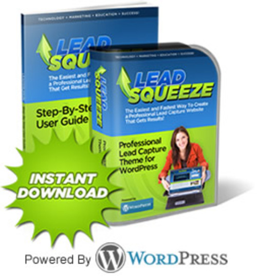 Product picture Lead Squeeze Theme - Squeeze Page WordPress Theme