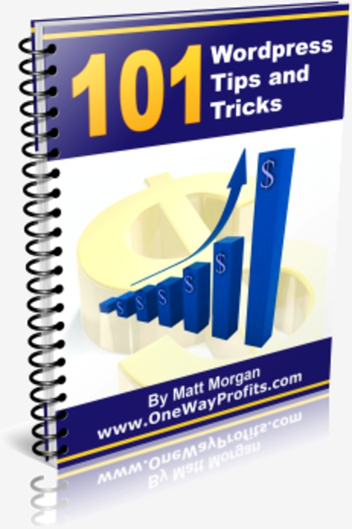 Product picture 101 WordPress Tips and Tricks