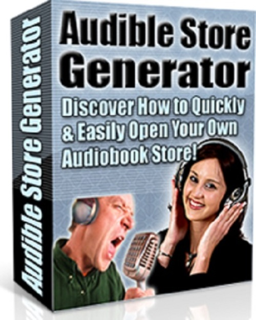Product picture Audible Store Generator Script